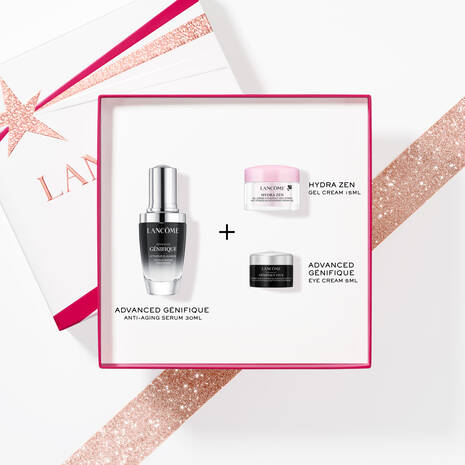 Lancome Advanced Genifique and Hydra Zen Holiday Gift Set For Her